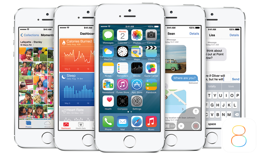 iOS 8 for Apple Mobile Devices