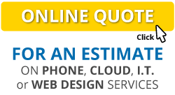 Get a quote online: phone systems, web design, digital marketing & IT support Brisbane