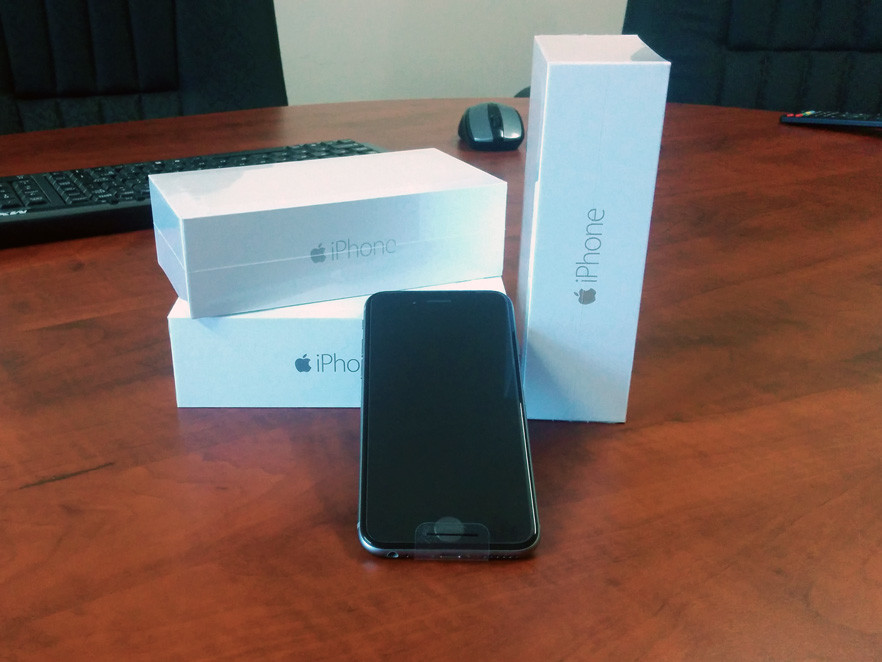 iPhone 6 arrived