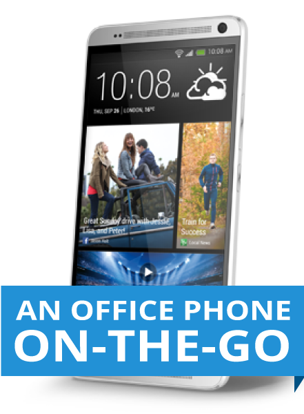 turn your mobile into an office phone on the go